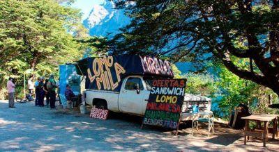 Crecen los reclamos por puesto de venta callejero en el mirador del cerro López
