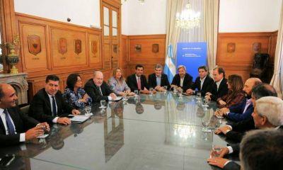 El gobernador Insfrán asistió a la reunión con Marcos Peña y Rogelio Frigerio