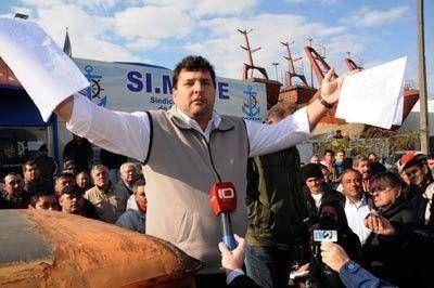 """Trueba: """"Si no se soluciona la situación del Puerto pediremos una reunión con Macri"""""""