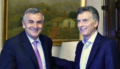Macri recibió a Morales en la Casa Rosada