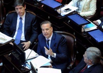 En plena tensión del bloque, Pichetto recibe a Urtubey en el Senado