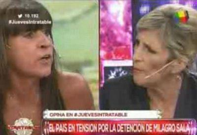 La periodista Liliana Franco se sacó con Diana Conti: