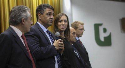 Jorge Macri asumió en el Bapro