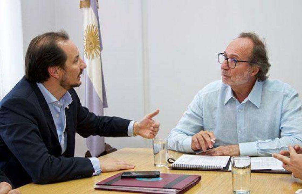 Provincia y Nación coordinan acciones en infraestructura social y obra pública