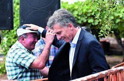 Macri anunció plan de ayuda a productores del sector vitivinícola