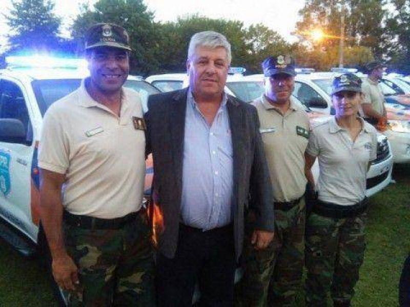 Magrath recibió dos patrullas para afectar al Comando de Prevención Rural