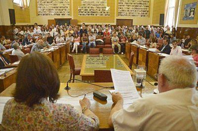 El Concejo aprobó la declaración de la emergencia de la Municipalidad