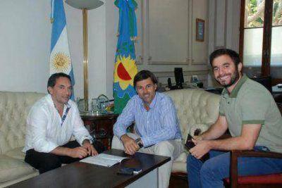 Funcionarios municipales se reunieron con el secretario de Turismo de la Provincia