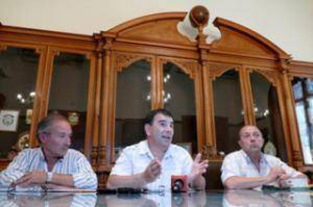 El Intendente anunció la incorporación de Héctor Comparato y Jorge Palmisano a la estructura municipal