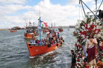 Miles de marplatenses y turistas en la Procesión de San Salvador
