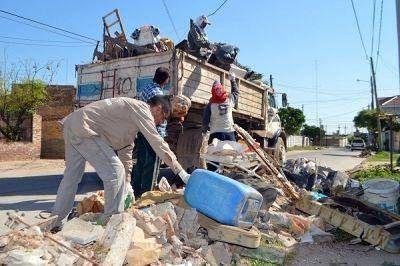 Operativo dengue en el Barrio Los Lagos de la capital santiagueña