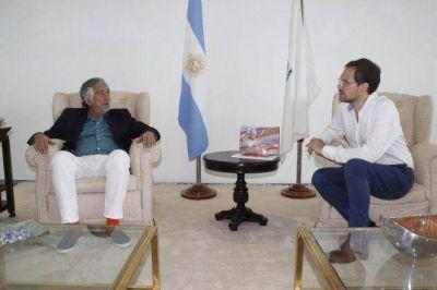 El intendente de Villa María, Martín Gill saludó al gobernador