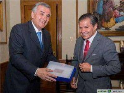 ZICOSUR: Gerardo Morales recibió al intendente de Antofagasta