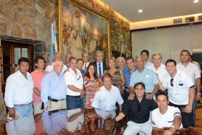 EL VICEGOBERNADOR RECIBIÓ EL APOYO DE LAS 62 ORGANIZACIONES PERONISTAS Y DE LA CGT