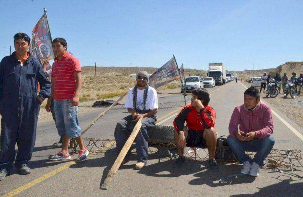 Piquetes de UOCRA mantienen sitiadas localidades de las zonas norte y centro