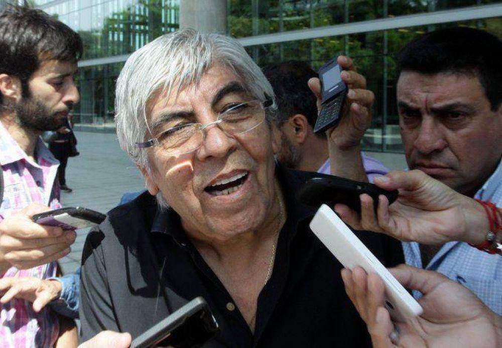 Moyano dijo que si Cristina estuviera en el gobierno