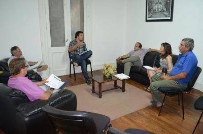 Reunión del equipo de gobierno con diferentes áreas