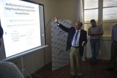 El Ministerio Público se vuelca por el código procesal nacional