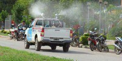 Más fumigaciones contra dengue, chikungunya y zika