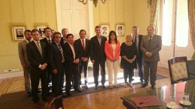 Sin Poggi, diputados de Compromiso Federal se reunieron con Mauricio Macri