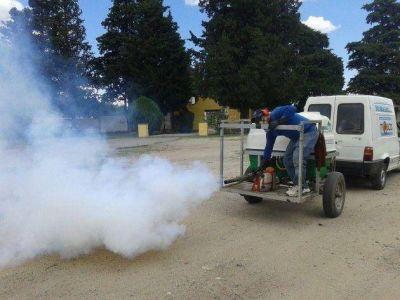 Las tareas de fumigación ya alcanzaron a 15 localidades