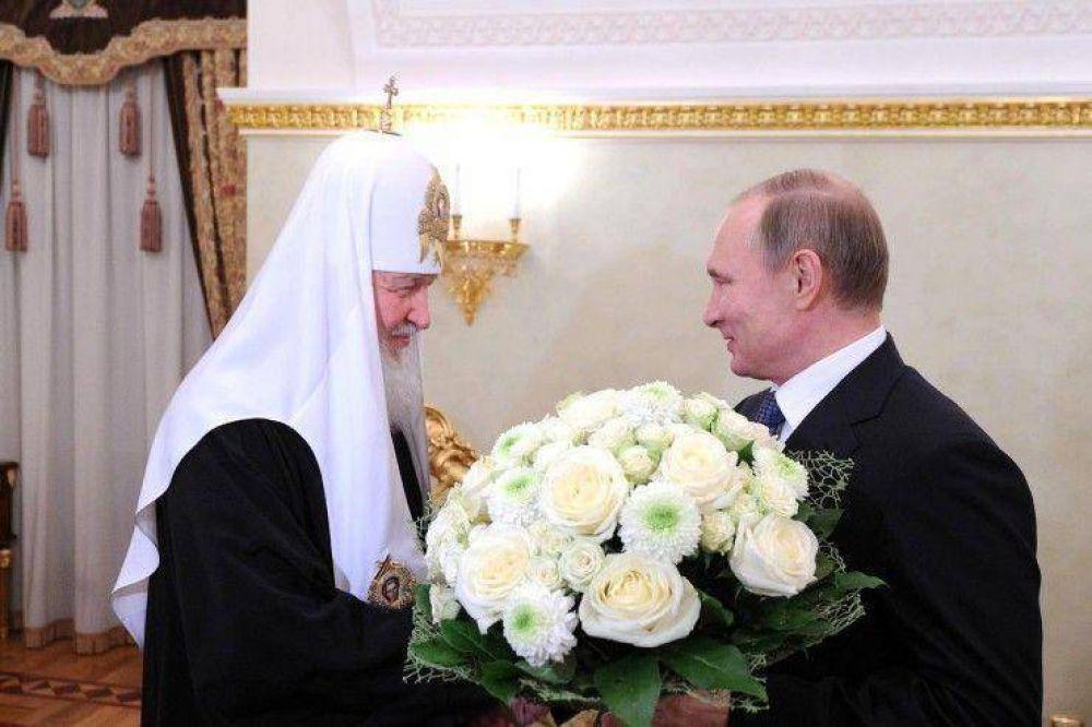 El presidente Putin se reúne con el patriarca Kiril de Moscú