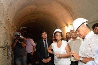 La Gobernadora destacó el impacto del dique Las Tunas