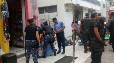 El municipio intentó reubicar a los ambulantes y generó un caos