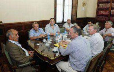 Audiencia con el vicegobernador Salvador