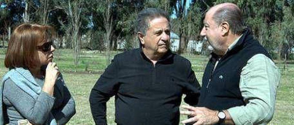 Duhalde visitó a Busti en Entre Ríos