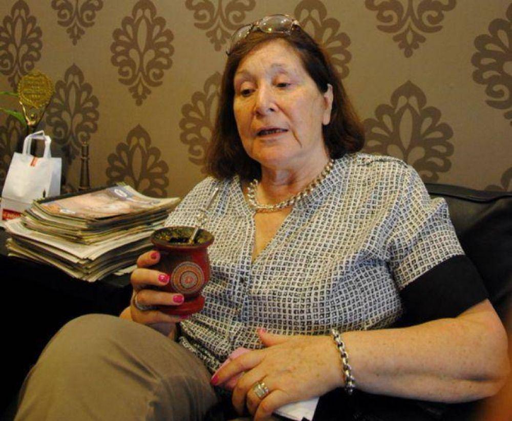 """Mercedes Morro: """"Tengo vocación de servicio y podría ayudar mucho dentro de la política"""""""