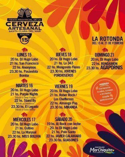 Se viene la 15° de la Fiesta de la Cerveza en Santa Clara