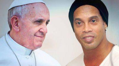 El papa Francisco y Ronaldinho anuncian nuevo