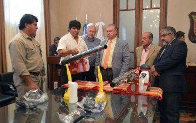 El municipio incorpor� nuevas fumigadoras para combatir al mosquito transmisor del dengue