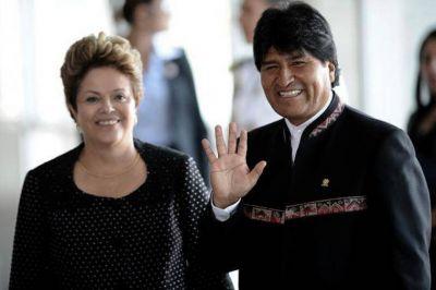 Bolivia destacó los acuerdos económicos con Brasil