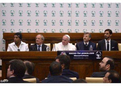 �La armon�a a la base de la educaci�n�, el Papa a las Scholas Occurrentes