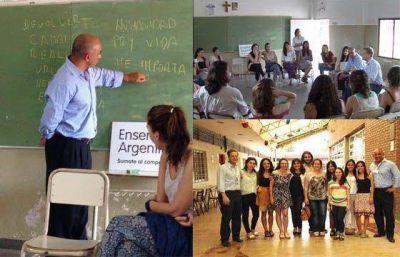 Salta fortalece acciones educativas de cooperación con la organización Enseñá por Argentina