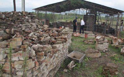 Hallaron restos óseos de un santiagueño en Pozo de Vargas