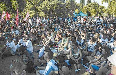 La Iglesia intercedi� y el Gobierno recibi� a la T�pac Amaru, que pidi� Milagro Sala