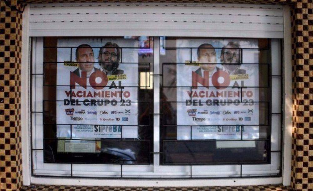 Amenazan con desalojar a los trabajadores de El Argentino de Mar del Plata