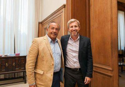 Adolfo Rodríguez Saá se reunió con el ministro del Interior de la Nación
