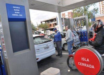 El consumo de combustibles bajó fuerte durante enero