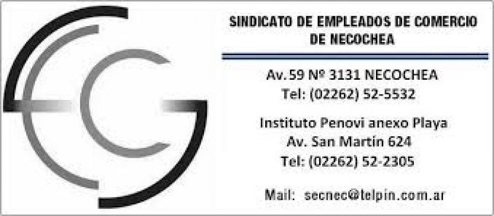 EMPLEADOS DE COMERCIO: ENTREGA DE GUARDAPOLVOS