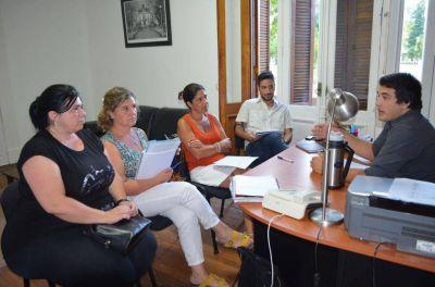 Ezequiel Tarabu se reunió con el área de Desarrollo Humano