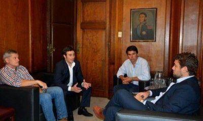 Ralinqueo se reunió con funcionarios nacionales