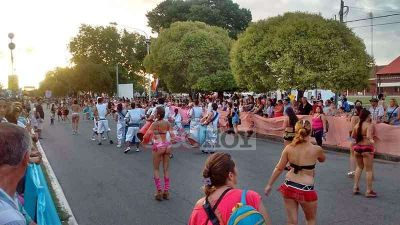 Sin mayores incidentes se realizó otra jornada de Carnaval