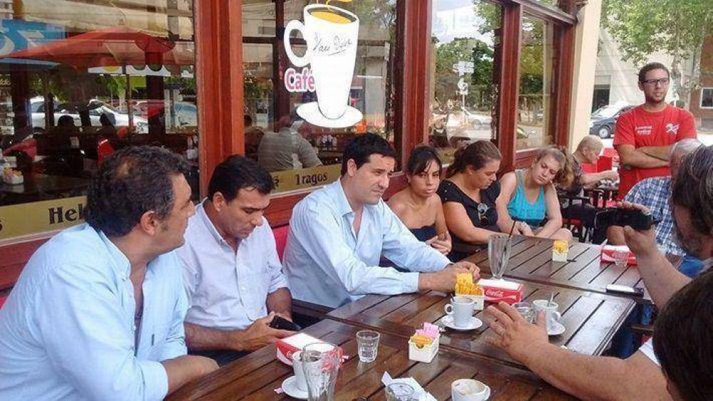 """Miramar: Abad """"El Frente Renovador se tiene que decidir si cogobierna, o es oposición"""""""