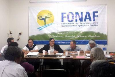 Se concretó una importante reunión con la Federación de Organizaciones de la Agricultura Familiar