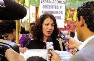 """""""Va a ser difícil que comiencen las clases"""" aseguró la dirigente del gremio del SUTEF, Verónica Andino"""