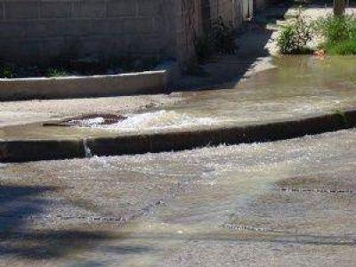 Canales saturados de sedimentos